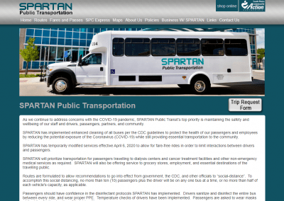 Spartan Public Transition