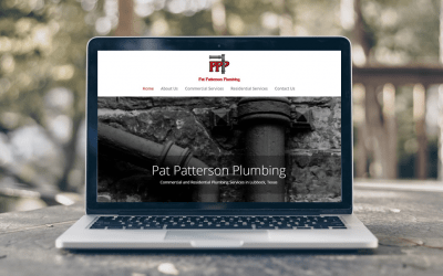 Pat Patterson Plumbing: New Website